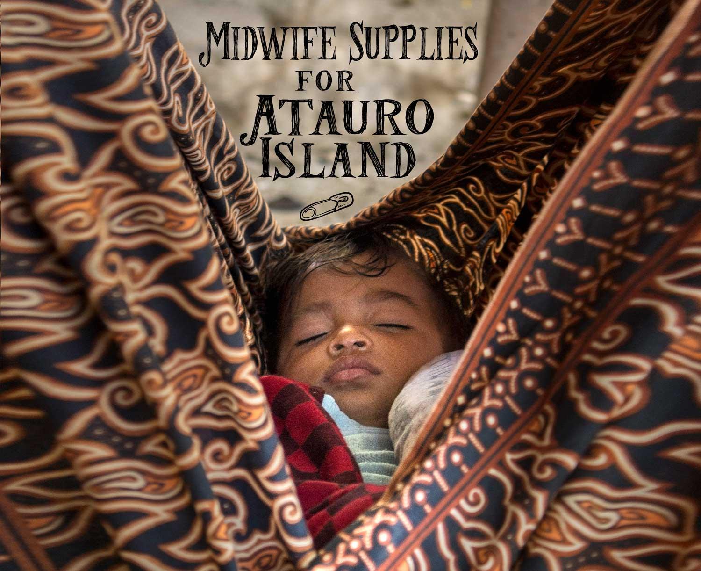 Vega delivers midwife supplies to Atauro Island